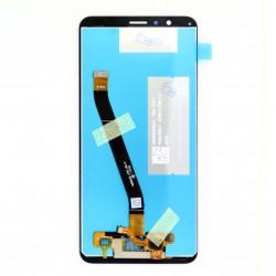 Ecran Noir avec vitre et LCD prémonté pour Huawei Honor 7X Photo 2