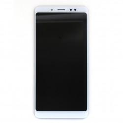 Ecran Blanc avec vitre et LCD pré-assemblé pour Xiaomi Redmi Note 5 Photo 1