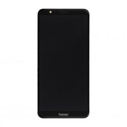 Ecran Noir COMPLET prémonté sur châssis avec batterie pour Huawei Honor 7X photo 2