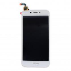 Ecran Blanc avec vitre et LCD pour Huawei Honor 6A Photo 1