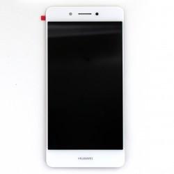 Ecran Blanc avec vitre et LCD pour Huawei Honor 6C Photo 1