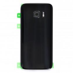 Vitre Arrière Noire compatible pour Samsung Galaxy S7 Photo 1