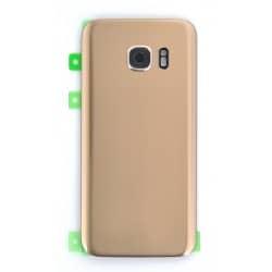 Vitre Arrière Or compatible pour Samsung Galaxy S7 Photo 1