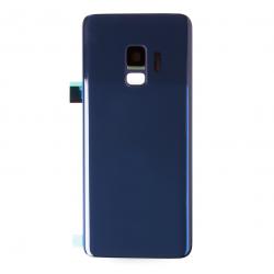 Vitre arrière compatible pour Samsung Galaxy S9 Bleu Photo 1