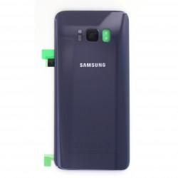 Vitre arrière pour Samsung Galaxy S8 Violet Orchidé photo 1