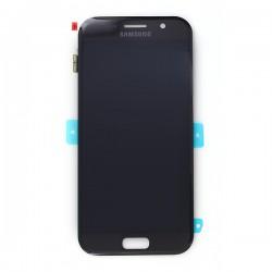 Bloc Ecran noir avec vitre + Amoled pour Samsung Galaxy A5 2017 photo 1