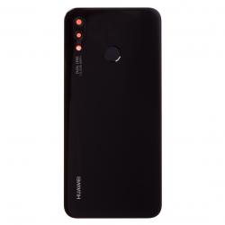 Vitre arrière Noire d'origine avec lecteur d'empreintes pour Huawei P20 Lite photo 1