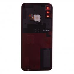 Vitre arrière Noire d'origine avec lecteur d'empreintes pour Huawei P20 Lite photo 2