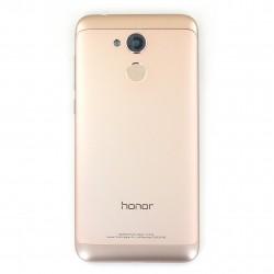 Coque arrière Or avec lecteur d'empreinte pour Huawei Honor 6A Photo 1
