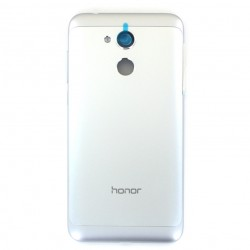 Coque arrière Argent sans lecteur d'empreinte pour Huawei Honor 6A Photo 1