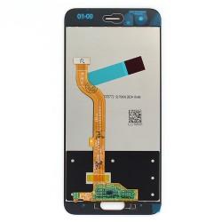 Ecran Blanc avec vitre et LCD prémonté pour Huawei Honor 9 Photo 2