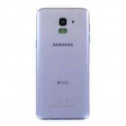Coque arrière Bleu Lavande pour Samsung Galaxy J6 Photo 1
