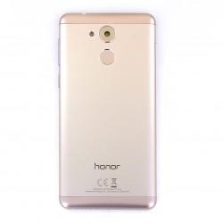 Coque arrière Or avec lecteur d'empreinte pour Huawei Honor 6C Photo 1