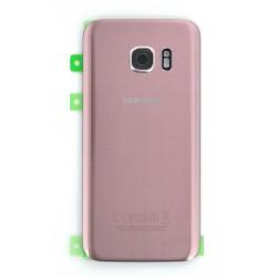 Vitre Arrière Rose d'origine pour Samsung Galaxy S7 Photo 1