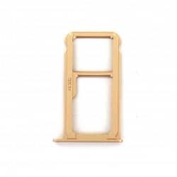 Rack tiroir carte SIM et SD Or pour Huawei Mate 9 Photo 2
