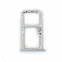 Rack tiroir carte SIM et SD Blanc pour Huawei Mate 9 Photo 1