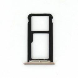 Rack tiroir carte SIM et SD Or pour Huawei Honor 6C Photo 1