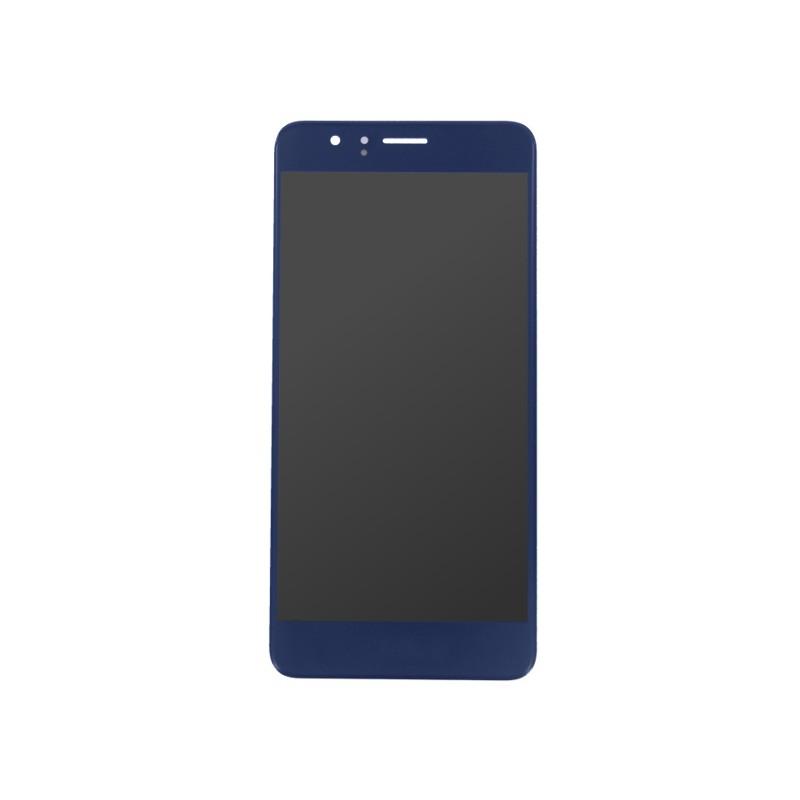 Ecran Bleu avec vitre et LCD prémonté pour Huawei Honor 8 Photo 1