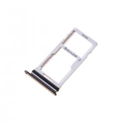 Rack tiroir cartes SIM et SD pour LG G7 ThinQ Noir