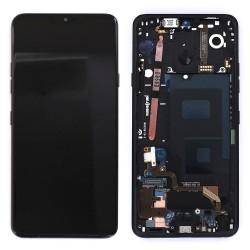 Bloc Ecran avec vitre et LCD prémontés sur châssis pour LG G7 ThinQ Noir photo 3