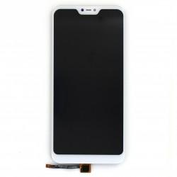 Ecran Blanc avec vitre avec LCD pré-assemblé pour Xiaomi Mi A2 Lite Photo 1