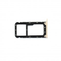 Rack tiroir cartes SIM et SD pour Xiaomi Redmi Note 5 Or Photo 1