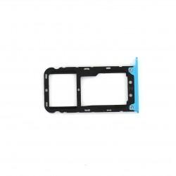 Rack tiroir cartes SIM et SD pour Xiaomi Redmi Note 5 Bleu Photo 1