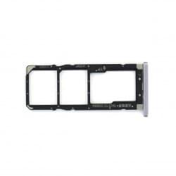Rack tiroir cartes Double SIM et SD pour Xiaomi Redmi S2 Argent Photo 1