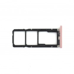 Rack tiroir cartes Double SIM et SD pour Xiaomi Redmi S2 Rose Photo 1