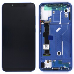 Bloc Ecran Bleu COMPLET prémonté sur chassis pour Xiaomi Mi 8 Photo 1