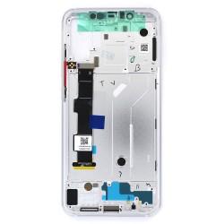 Bloc Ecran Argent COMPLET prémonté sur chassis pour Xiaomi Mi 8 Photo 2