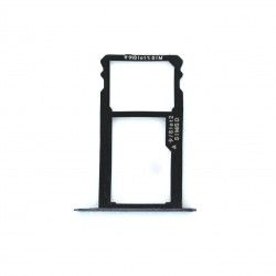 Rack tiroir carte SIM et SD Noir pour Huawei Honor 7 Photo 1