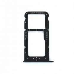 Rack tiroir carte SIM et SD Noir pour Huawei Honor 9 Lite Photo 1
