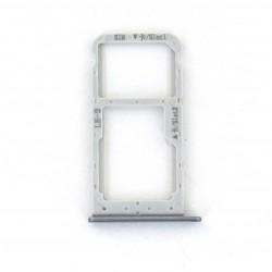 Rack tiroir carte SIM et SD Gris pour Huawei Honor 9 Lite Photo 1