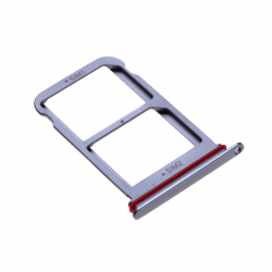 Rack tiroir 2 cartes SIM pour Huwei P20 Pro Bleu Photo 1