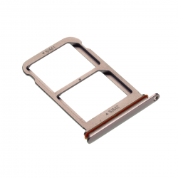 Rack tiroir 2 cartes SIM pour Huwei P20 Pro Or Rose Photo 1