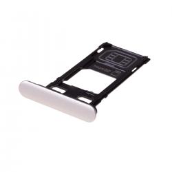 Rack tiroir cartes SIM et SD Argent pour Sony Xperia XZS Photo 1