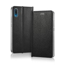 Housse portefeuille Smart Venus avec effet cuir noir pour iPhone X et XS Photo 1