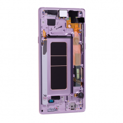 Bloc Ecran Amoled et vitre prémontés pour Samsung Galaxy Note 9 Mauve Orchidée Photo 2