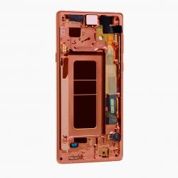 Bloc Ecran Amoled et vitre prémontés pour Samsung Galaxy Note 9 Cuivre Métallique Photo 2