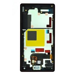 Bloc écran noir avec châssis pour Sony Xperia Z5 Compact photo 2