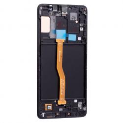 Bloc Ecran noir avec vitre + Amoled pour Samsung Galaxy A9 2018 Photo dos