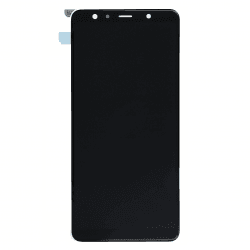 Ecran noir avec vitre + Amoled pour Samsung Galaxy A7 2018 photo 1