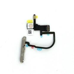 Nappe power et flash pour iPhone XS Max avec support métallique photo 1