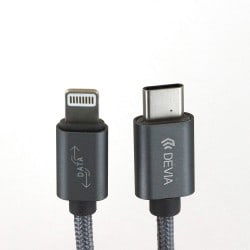 Câble tressé USB Type C vers lightning photo 1