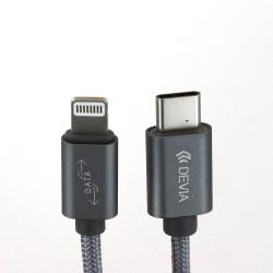 Câble tressé USB Type C vers lightning photo 1