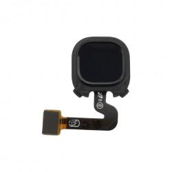 Nappe avec lecteur d'empreintes digitales pour Samsung A9 2018 Noire_photo 1