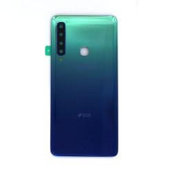 Vitre arrière Bleu pour Samsung Galaxy A9 2018_photo 1