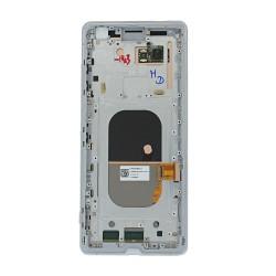 Bloc Ecran Gris Perle sur châssis pour Sony Xperia XZ3_photo 2