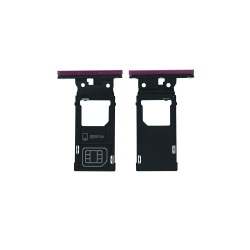 Rack tiroir cartes SIM et SD Prune pour Sony Xperia XZ3_photo 1